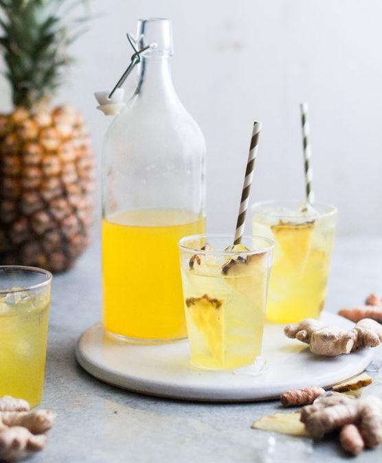 pineapple ginger tea